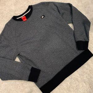 Nike Men's Crewneck Sweater / Navy Blue / Gray 🖤